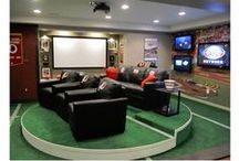 """Mancave Ideas / The Mancave seems to be the new """"it"""" room to have in your home. We've found some great ideas on making your Mancave great!"""