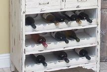 Wood box wine/beer