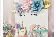 Unicorn Birthday Party styling, Jednorożec dekoracje urodzinowe, DIY, unicorn cake,