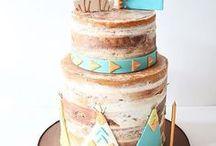 Boho birthday party ideas, Indian, wild one party / #boho #indian #wildone #partyideas #kidsparty #birthday #cake