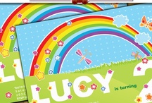 Shower/Party Invitation Card Clipart