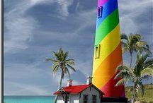 light house& wind mills&water mills!