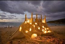 sand art,ice art,paper art and more!