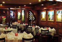 Le Rivage / Le Rivage restaurant offers you a cozy romantic French country atmosphere where traditional French cuisine is expertly prepared for your pleasure. The kitchen is commanded by the Denamiel family's son, who has taken classic French cuisine and infused it with fresh ideas. Le Rivage offers classic accommodation, lovely food and wonderful artwork.