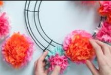 DIY Home Decor / Let's make DIYs to style your home pretty!