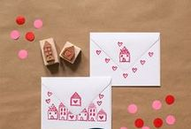 DIY Cards and Stationery / Let's make personalized invitations, note cards, and stationery!