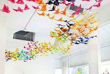 Nesting instinct / home, decor, furniture, bohemian design, bird theme, nest, cozy corners, dreamy spaces, beautiful bedrooms.