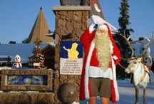 Santa Claus Village in Rovaniemi / Santa Claus Reindeer is located at the Santa Claus Village in Rovaniemi in Finnish Lapland. Our premises are just 100 from the Santa Claus Office