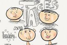 Sketchnotes & Visual Facilitation / Inspiration, drowings, tips for Sketchnoting & more