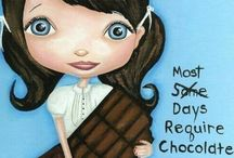 Chocolate / Cadbury is my favourite!