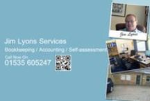Our services / We offer a comprehensive and professional Business Support Service at Jim Lyons Services.