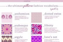 Vocabulary. Patterns
