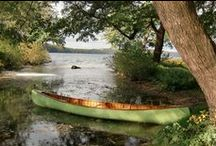 Wood and Canvas Canoe / Wood and canvas canoes