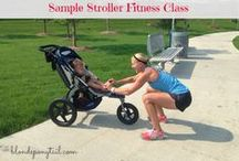 Stroller workouts and fitness