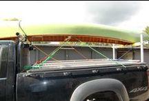 Canoe Wheels / canoe racks and wheels