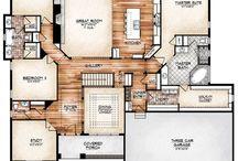 { House plans }
