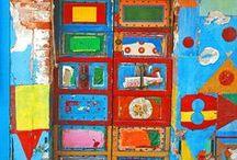 Entrez Vouz / Doors, entry ways, porticos, painted entrances, open sesame.