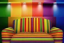 Colour Crush / Colours, colour theory, paint colours, colour combinations, style, design.