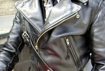 Leathermen / Gay men wearing leather