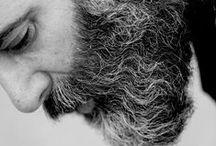 Beards / Men wearing a beard.