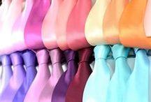 Einfarbige Krawatten / Hier findet Ihr eine kleine Auswahl unserer unifarbenen Krawatten.