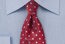 Krawatten mit Punkten / Krawatten mit Punkten