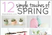 Home   Spring Decor Ideas / Freshen up your home with these tips and tricks. http://www.u-canamericas.com/biribiri
