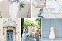 Hochzeit Inspiration: Hellblau / Serenity / Die Pantone Farben Rose Quartz und Serenity gelten als absolute Hochzeitsfarben des Jahres. Deshalb hier eine Inspirationssammlung für die Farbpalette, hellblau, pastellblau, serenity.