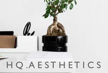 H Q . A E S T H E T I C S / Inspiring office places and interiors.