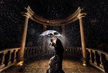 Hochzeit mit schwarzer Eleganz / Warum sollte schwarz nur zu traurigen Anlässen getragen werden? Schwarz ist sehr elegant und kann mit fast allen Farben kombiniert werden: Ob schwarz/gold, schwarz/weiß, schwarz/rot - hier eine kleine Ideensammlung.