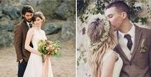 Hochzeitsinspiration: Braun / Insbesondere für den Herbst ist braun eine der Hochzeits-Trendfarben.