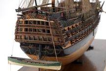Wooden Sail Ship Models