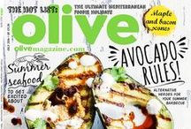 Covers / olive magazine covers