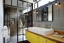 Inspirations de salles de bains / Découvrez dans ce tableau les salles de bains qui nous inspirent au quotidien !