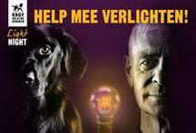 Light Night / Op de Geleidehonden Light Night zetten wij de geleidehond in de schijnwerpers. In 2016 staan wij op het Amsterdam Light Festival met een stralend lichtkunstwerk! In 2014 was de eerste editie, deze vond plaats in het Amsterdamse Bos.
