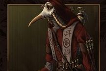 Plague doctors / Plague doctors, kinda says it all