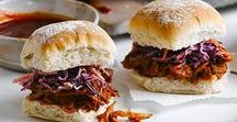 Easy BBQ recipes / Now that summer's in full swing it's time to dust of the BBQ. We've got a collection of recipes to cook on a barbecue plus side dishes. From pulled pork to corn on the cob, you'll find our best recipes here