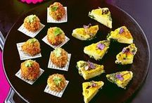 Party food and canape recipes / Looking for the perfect party food to please your guests? Take a look at our canapé, wrap and filo pie recipes which are sure to tickle everyone's tastebuds. If you're looking for something sweeter, our truffle, tartlet and macaroon recipes are set to be popular with all  sweet-toothed guests.