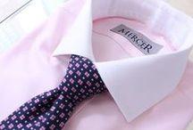Koszule szyte na miarę / W Pracowni Mercer Szycie na Miarę szyjemy koszule z bawełny egipskiej najlepszej jakości.