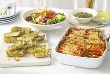 Cooking for a crowd / Whether you're hosting a big party or inviting all the family round, it can be hard to cook for crowds of people. We have a variety of recipes to help you out, ranging from savoury meat dishes, to veggie wellington to delicious baked treats. We have you covered with delicious dishes that are sure to please all your guests.