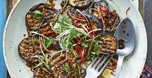Aubergine recipes / Aubergines in lasagne, aubergines in salads, aubergines in pasta dishes --they're everywhere! Check out our fresh aubergine recipes to make the most of this wonderful vegetable whilst it's in season.