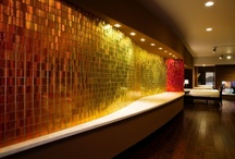 Feature Walls / Modono panels are used to create stunning feature walls in commercial, hospitality, and residential environments.