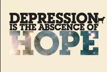WARNING Signs Depression, Suicide, Self-Harm / Waarskuwing Tekens Depressie, Selfmoord, Selfbesering