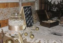 Affordable Wedding Decorations / Wedding Décor ideas, rustic and affordable