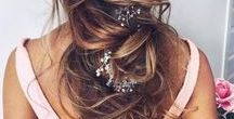 Hair / Wear it up or wear it down, or do both