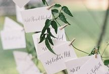 Seating your Guests / Guest seating charts should be beautiful as well as functional.  Get creative and get inspired with these lovelies.