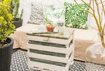 DIY upcycling / aus alt mach neu, Möbel, Deko, Inspiration, Ideen, Anleitung, Paletten, Farbe, Holz, einfach, Projekte, wieder verwenden, reuse