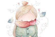 Ilustraciones / Ilustraciones que me encantan