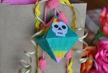 Día de muertos crafts / Hermosos proyectos para festejar nuestra linda tradición mexicana, Día de muertos