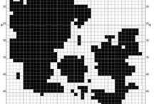 Cross stitch / My inspiration! Visit me on www.crossedcotton.com